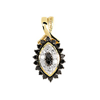 1001 PIERRES Pendentif Hypnotique Diamants 1/2 carat