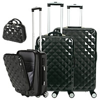 VALISES DIAMANT PREMIUM - Lot de 3 + vanity