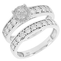 DIAMONESCENCE Bague Union Diamants 1/2 carat