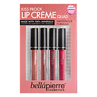 BELLAPIERRE Kiss Proof Lip Creme Quad - Maquillage