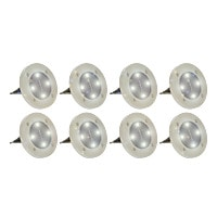 DISK LIGHTS - Set de 8 Ampoules Solaires