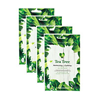 VITAMASQUES Masque Tea Tree - Lot de 4