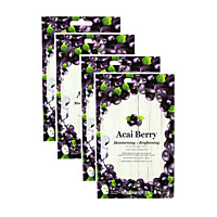 VITAMASQUES Masque Açaï Berry - Lot de 4