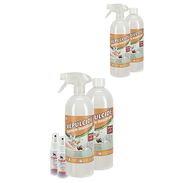 BARRIERE INSECTES PLUS X2  - Insecticide Maison + 2 Sprays