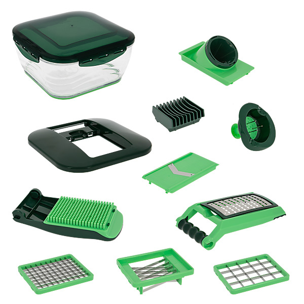 video NICER DICER CHEF - Set de 10 Pièces