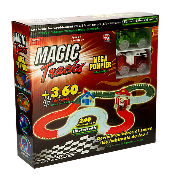 MAGIC TRACKS FIRE RESCUE SET - Circuit de Voiture