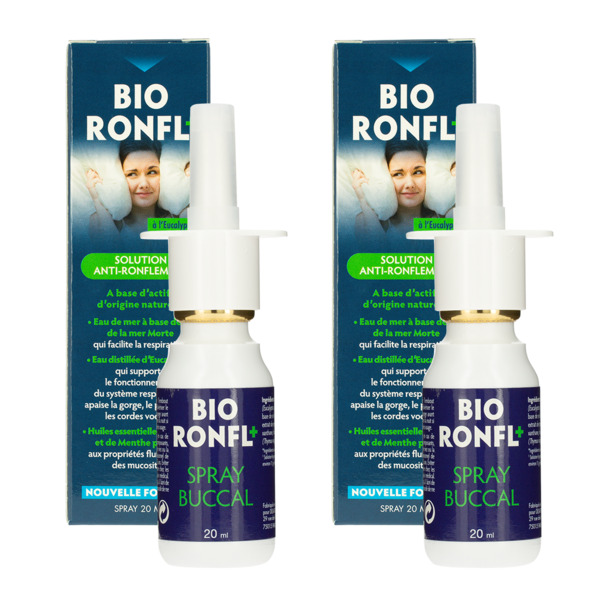 SPRAY ANTI RONFLEMENT - Lot de 2