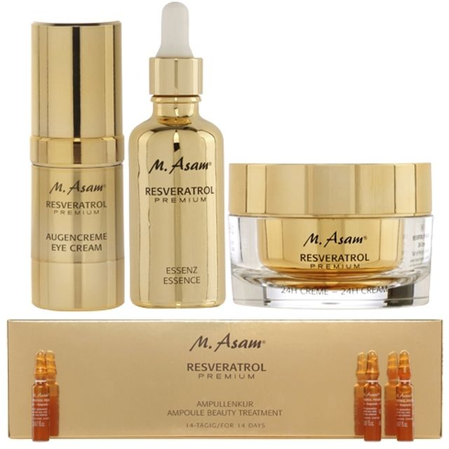 video M ASAM Cure RP 50 Trio + Ampoules 14 Jours - Cure Anti-âge