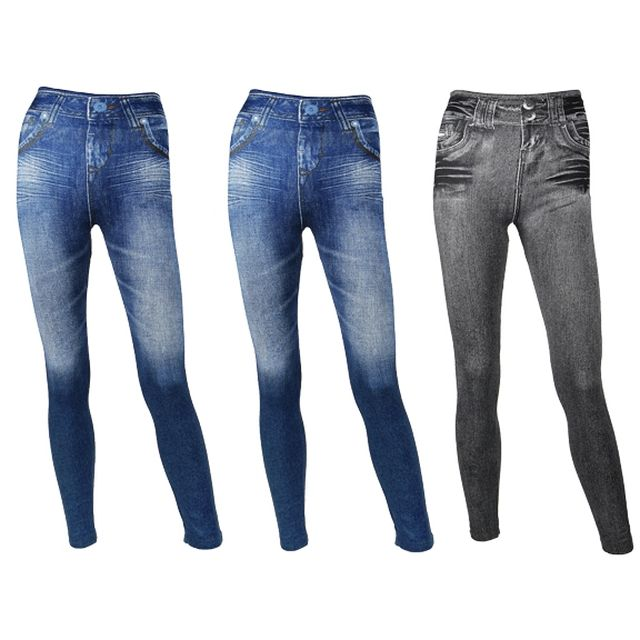 JEGGINGS Amincissants - Lot de 3